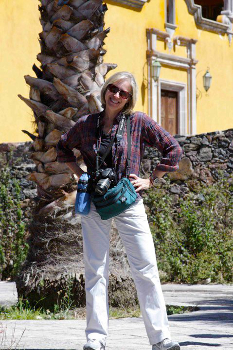 Brenda Lange, photographing in and around San Miguel de Allende, Mexico, Feb. 2010